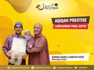 Aqiqah Nurul Hayat bersama keluarga Ridwan Ghany & Adhitya Putri